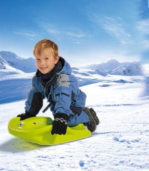 BIG Snow Speedy Schlitten grün Bild 2