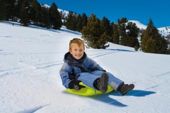 BIG Snow Speedy Schlitten grün Bild 3