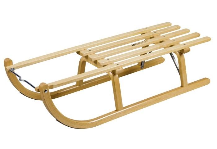 Holzschlitten / Rodelschlitten Ress Davoser Art 115 cm Bild 1