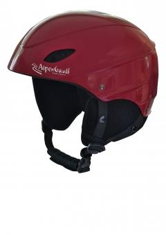Rodelhelm / Jet-Helm für Kinder Alpengaudi Kinderrodelhelm rot Bild 1