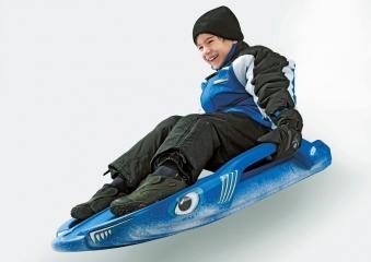 Schlitten / Bob Snow Shark - Rolly Toys Bild 2