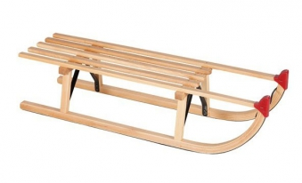 Schlitten / Holzschlitten Davoser Art 100cm Bild 1