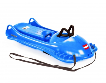 Schlitten / Rodel / Lenkbob KHW Mountain Racer blau Bild 1
