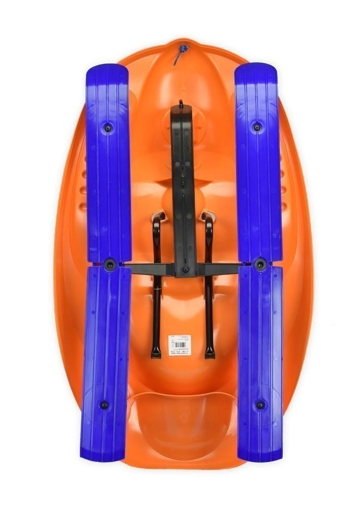 Schlitten / Rodel / Lenkbob KHW Snow Car 4x4 orange Bild 3