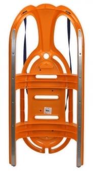 Schlitten / Rodel / Lenkbob KHW Snow Tiger de Luxe orange Bild 2