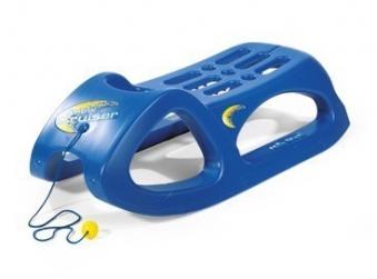 Schlitten / Rodel Snow Cruiser blau - Rolly Toys Bild 1