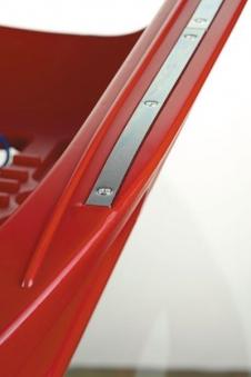 Schlitten / Rodel Snow Cruiser blau - Rolly Toys Bild 2