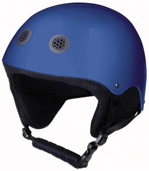Rodelhelm / Jet-Helm für Kinder Alpengaudi Kinderrodelhelm blau