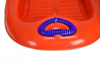 Schlitten / Rodel Snow Flipper de Luxe KHW blau Bild 3