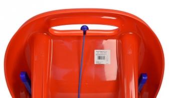 Schlitten / Rodel Snow Flipper de Luxe KHW rot Bild 4
