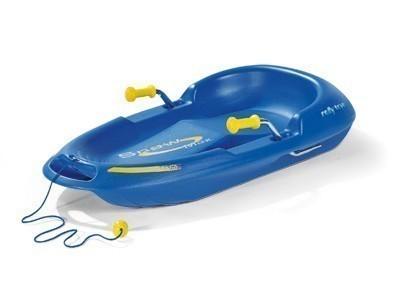 Schlitten / Rodel Snow Max blau - Rolly Toys Bild 1
