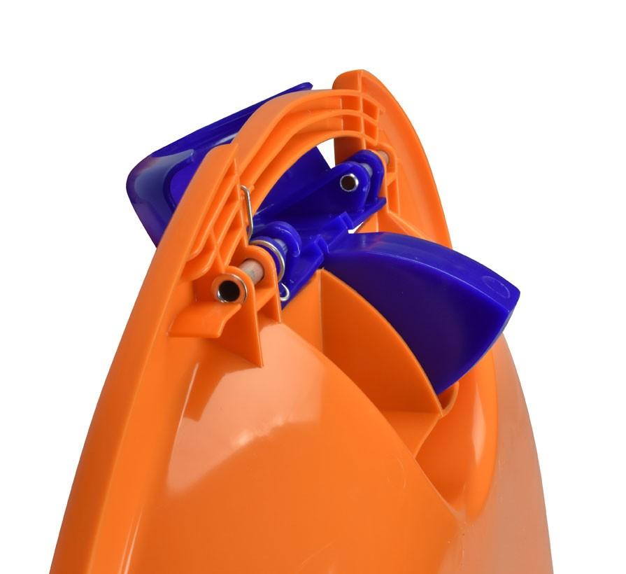 Schlitten / Schnee Rutscher Fun Ufo KHW orange Bild 2
