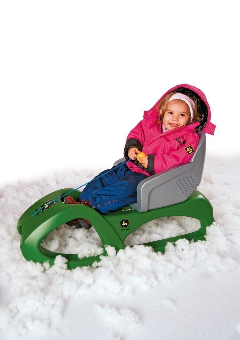rollyCruiserseat Schlittensitz Schlittenlehne grau - Rolly Toys Bild 2
