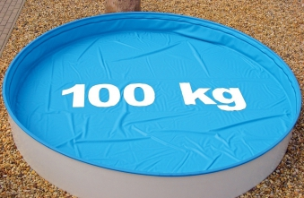 Poolabdeckung / Pool Abdeckplane myPool SafeTop für Rundbecken Ø 350cm Bild 1