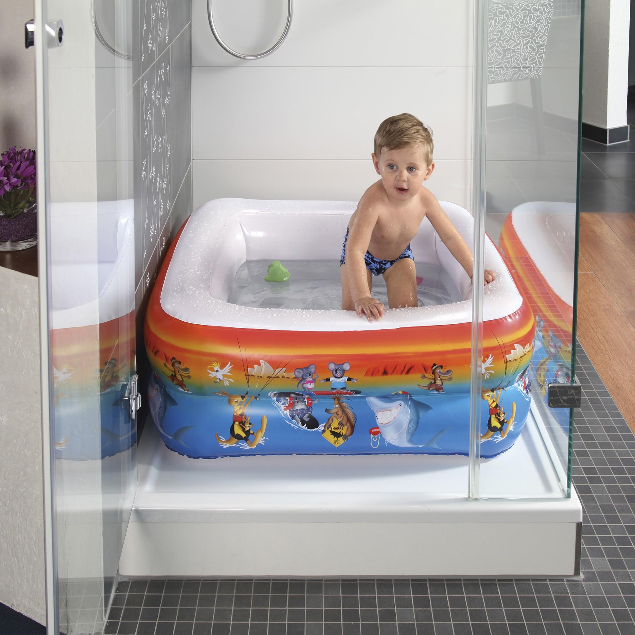 Planschbecken / Baby Pool Wehncke Down Under für Duschwanne 85x85cm Bild 1