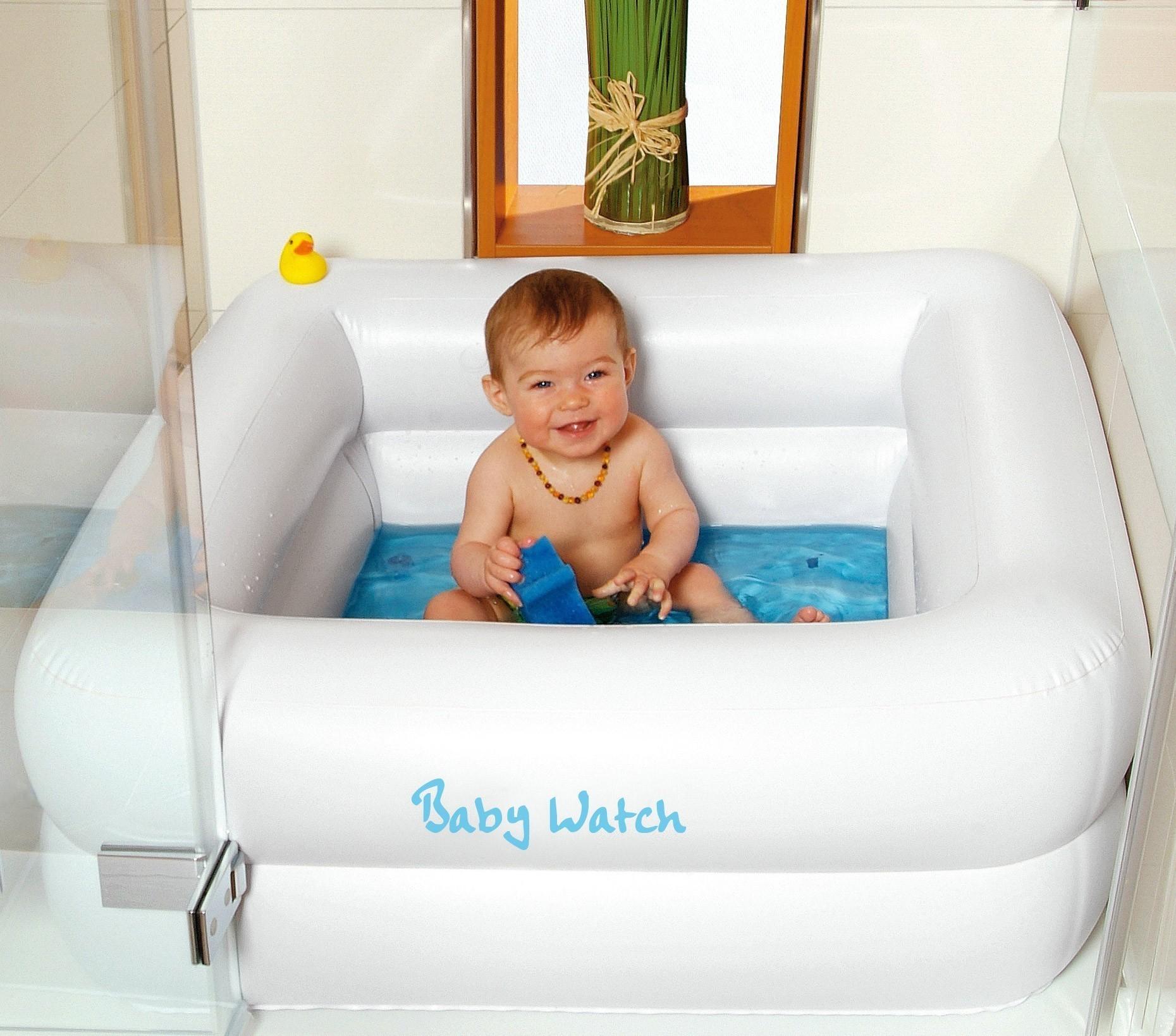 Planschbecken / Baby Pool Wehncke für Duschwanne 85x85cm Bild 1