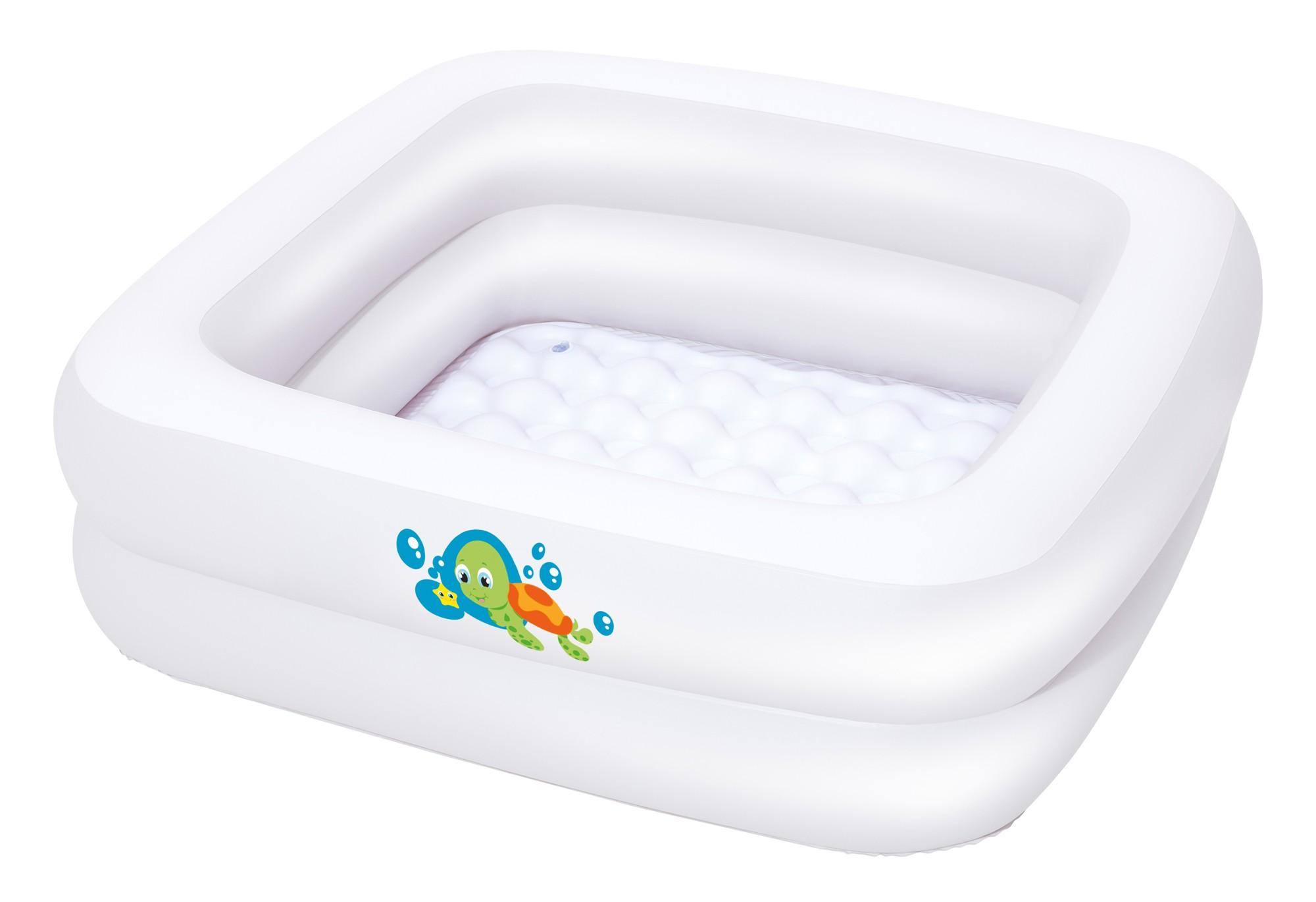 Planschbecken / Babybadewanne Bestway Baby Tub 86x86x25cm Bild 1