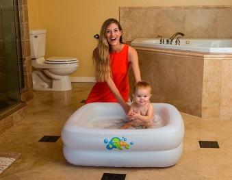 Planschbecken / Babybadewanne Bestway Baby Tub 86x86x25cm Bild 3