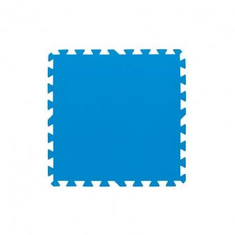 Bodenschutzfliesen für Bestway Pools 8 Stück 50x50cm blau