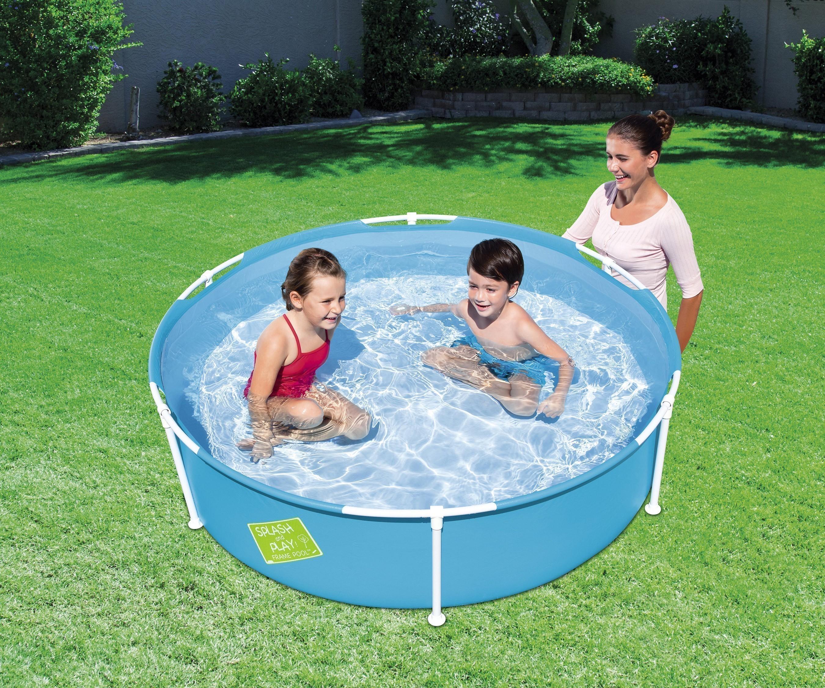 Planschbecken Bestway My First Frame Pool Ø152x38cm farbig sortiert Bild 2