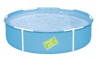 Planschbecken Bestway My First Frame Pool Ø152x38cm farbig sortiert Bild 1