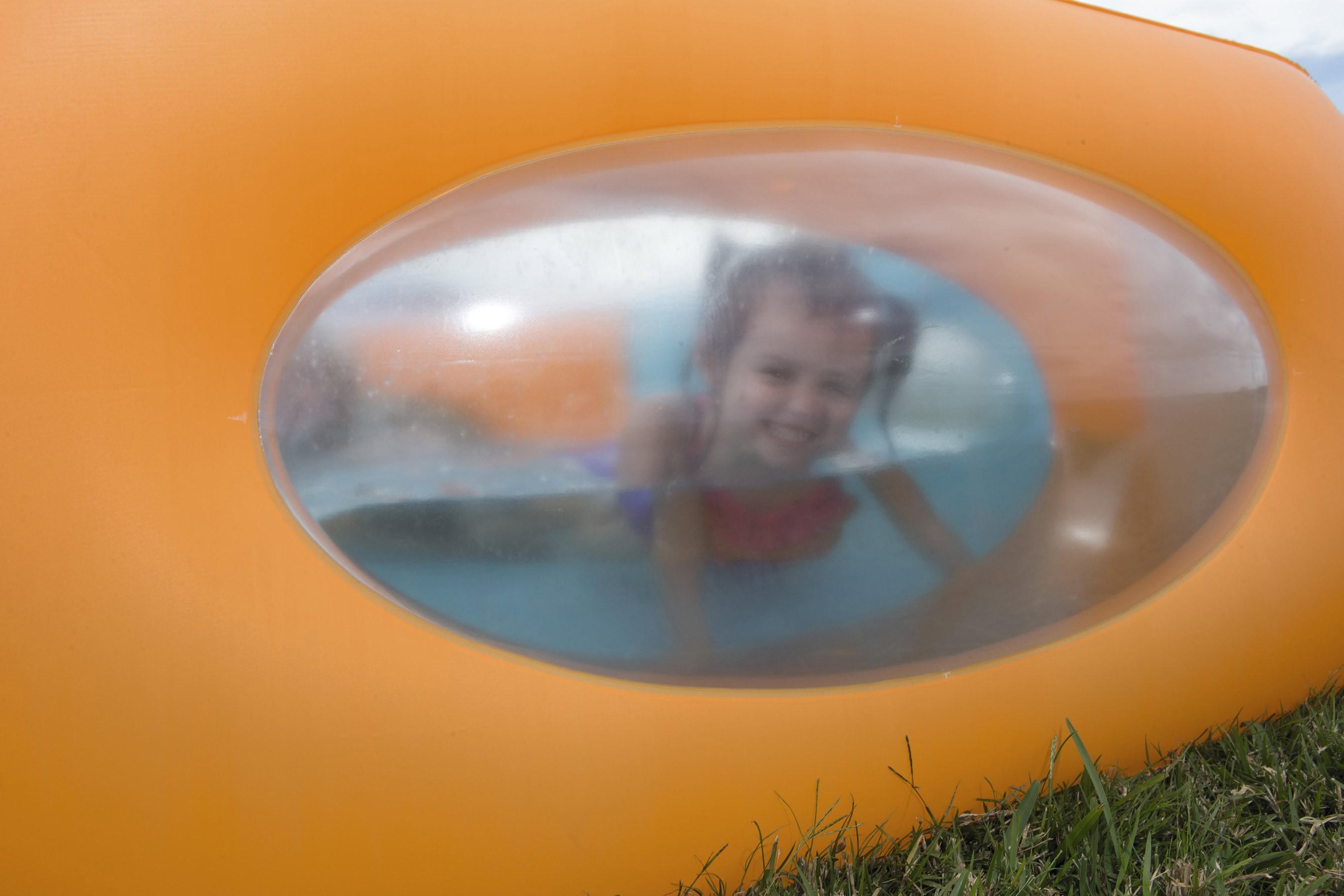 Planschbecken Bestway Window Pool 168x168x56cm Bild 2
