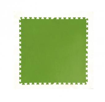 Bodenschutzfliesen für Bestway Pool 8 Stück 81x81cm grün
