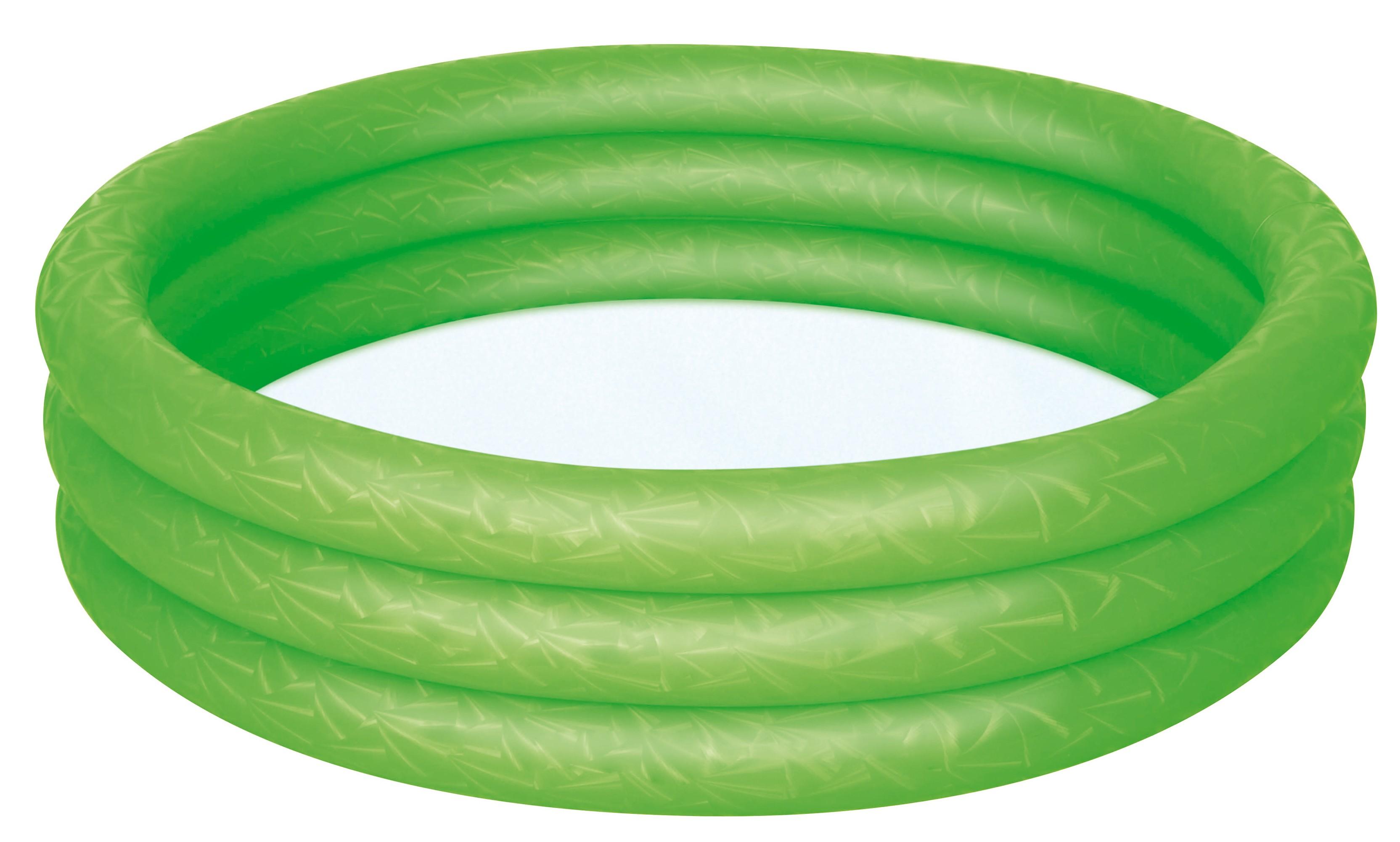Planschbecken / Kinderpool Bestway Uni rot/blau/grün Ø152x30cm Bild 3