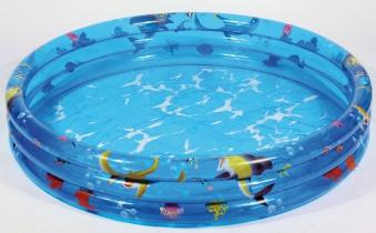 Planschbecken / Kinderpool Wehncke Clearwater Ocean WFF Ø 120 cm Bild 1