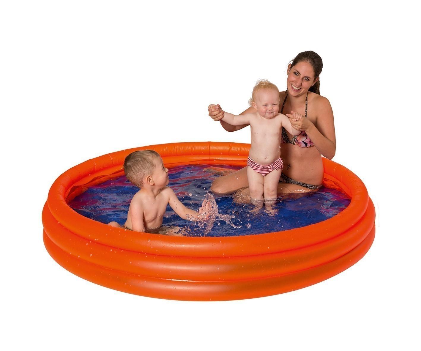 Planschbecken / Uni 3-Ring-Pool Ø ca. 175cm Happy People 77713 Bild 1