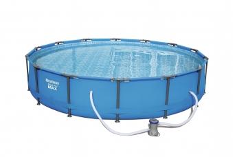 Pool / Frame Pool Bestway Steel Pro Max Set Filterpump e Ø 427x84cm Bild 2