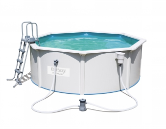 Pool / Stahlwandpool Bestway Hydrium Pool Set Filterpumpe Ø360x120cm Bild 1