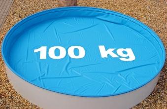 Poolabdeckung / Pool Abdeckplane myPool SafeTop Ovalbecken 700x350cm