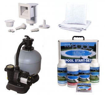 Pool / Stahlwandpool Set myPool Premium Ovalbecken 800x416x150cm Bild 2