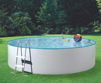 Pool / Stahlwandpool myPool Splash Set Kartuschenfilter Ø 300x90cm Bild 1