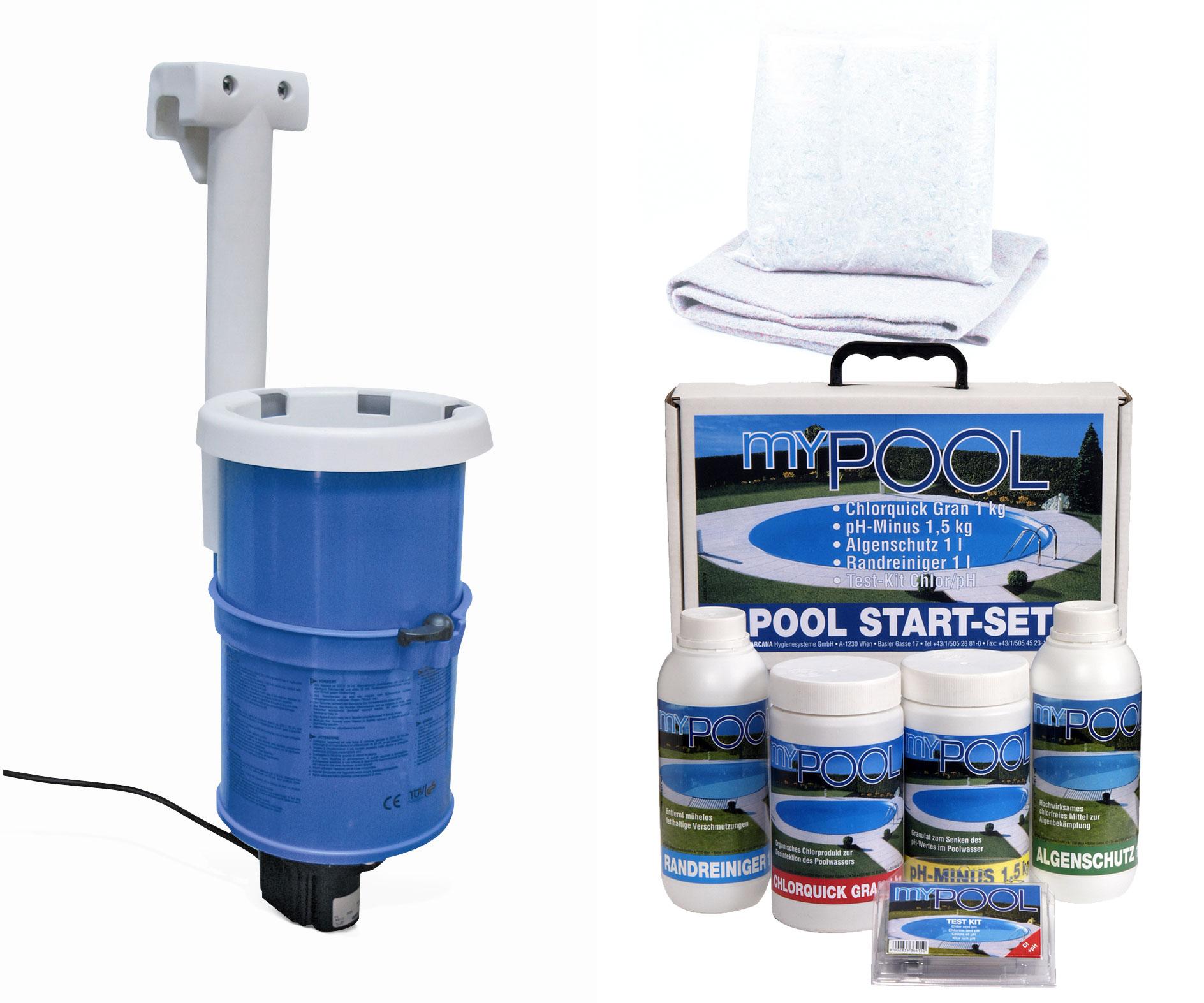 Pool / Stahlwandpool myPool Splash Set Kartuschenfilter Ø 360x90cm Bild 2
