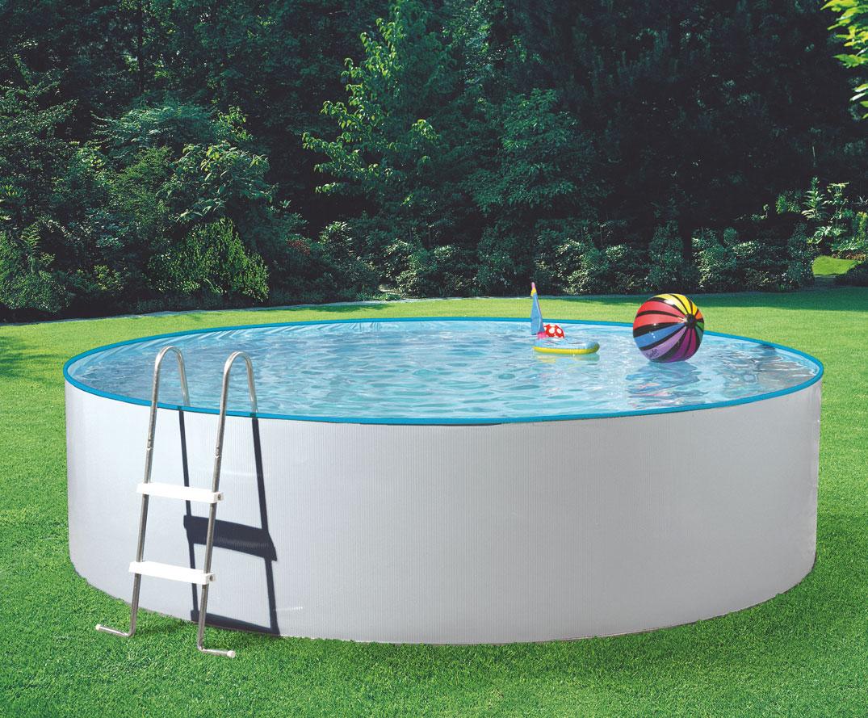 Pool / Stahlwandpool myPool Splash Set Sandfilter Ø 360x90cm Bild 1