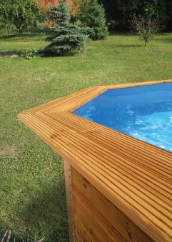 Handlaufverbreiterung / Toprail WEKA Swimmingpool 593 A und B Bild 1