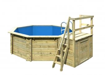 Karibu Pool Classic Modell 1 Variante B kdi 400x480cm Bild 4