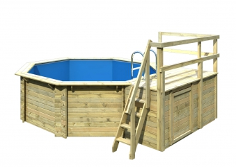 Karibu Pool Classic Modell 1 Variante C kdi 400x480cm Bild 4