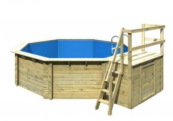 Karibu Pool Classic Modell 2 Variante B kdi 470x550cm Bild 4