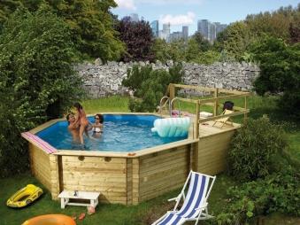 Karibu Pool Classic Modell 2 Variante D kdi 470x550cm Bild 1