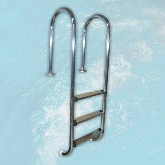 Leiter / Einhängeleiter für Weka Swimmingpool Bild 1