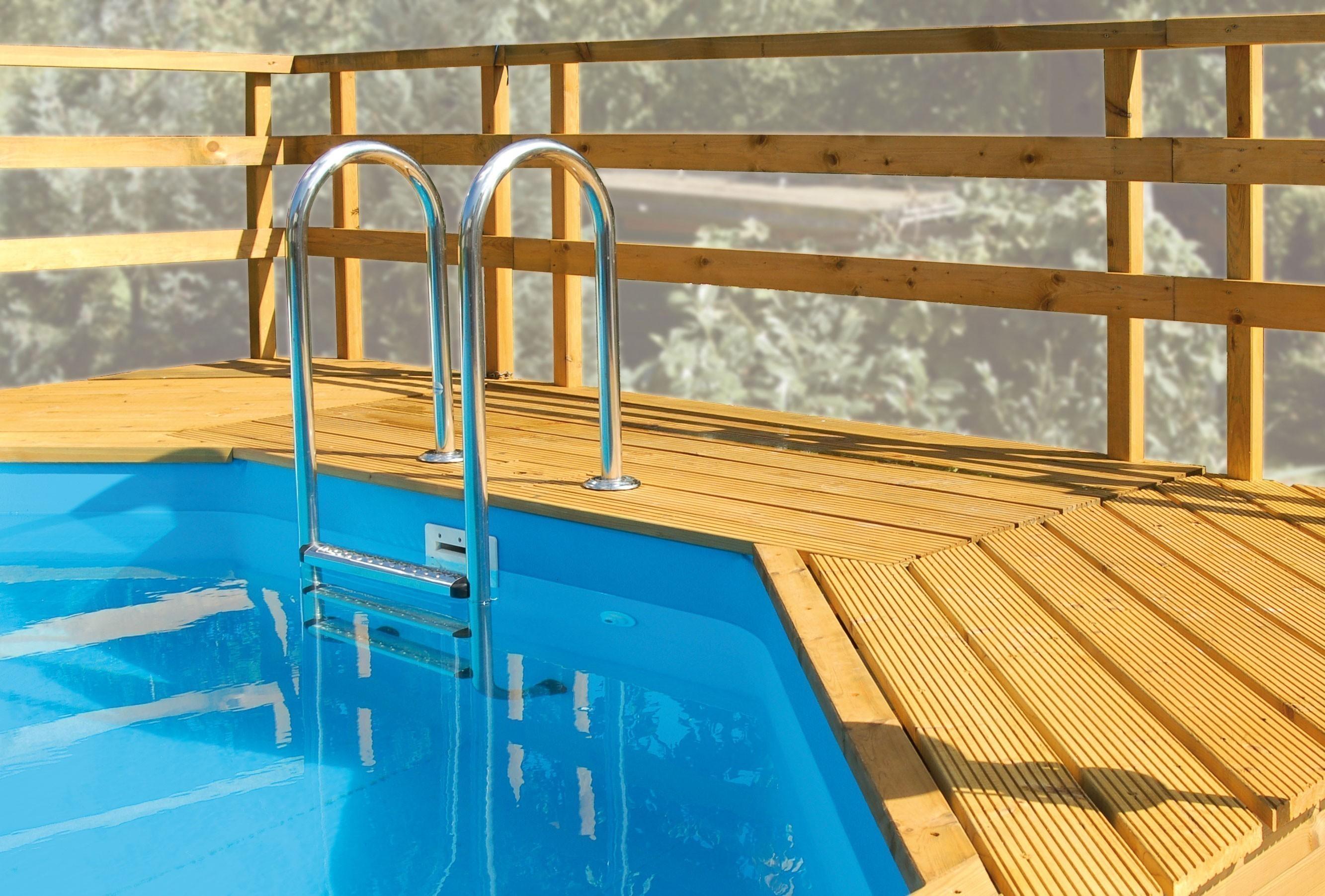 sonnendeck f r weka pool modell korsika korfu und malta. Black Bedroom Furniture Sets. Home Design Ideas