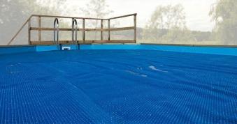 Wärmeplane für Weka Pool 594 Gr.1 blau 714x376cm Bild 1