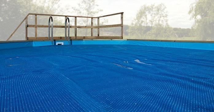 Wärmeplane für Weka Pool 593 B  Gr.2 blau 571x471cm Bild 1