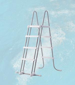 Weka Leiter / Übersteigleiter für Weka Swimmingpool bis 120cm Höhe Bild 1