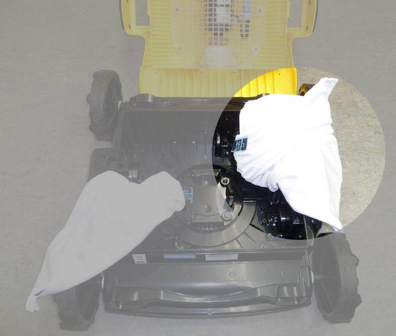 Ersatzfilterbeutel für mypool Pool-Bodenreiniger Pool Rover Bild 1