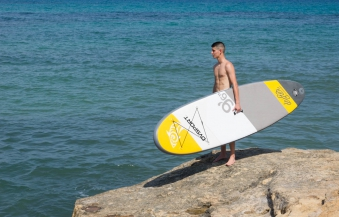 SUP DVSport 22205 Stand-Up-Paddle-Set Drifter aufblasbar 290x75x10cm Bild 2