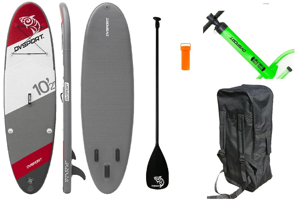 SUP DVSport 22330 Stand-Up-Paddle-Set 10.2 aufblasbar 310x86x13cm Bild 1
